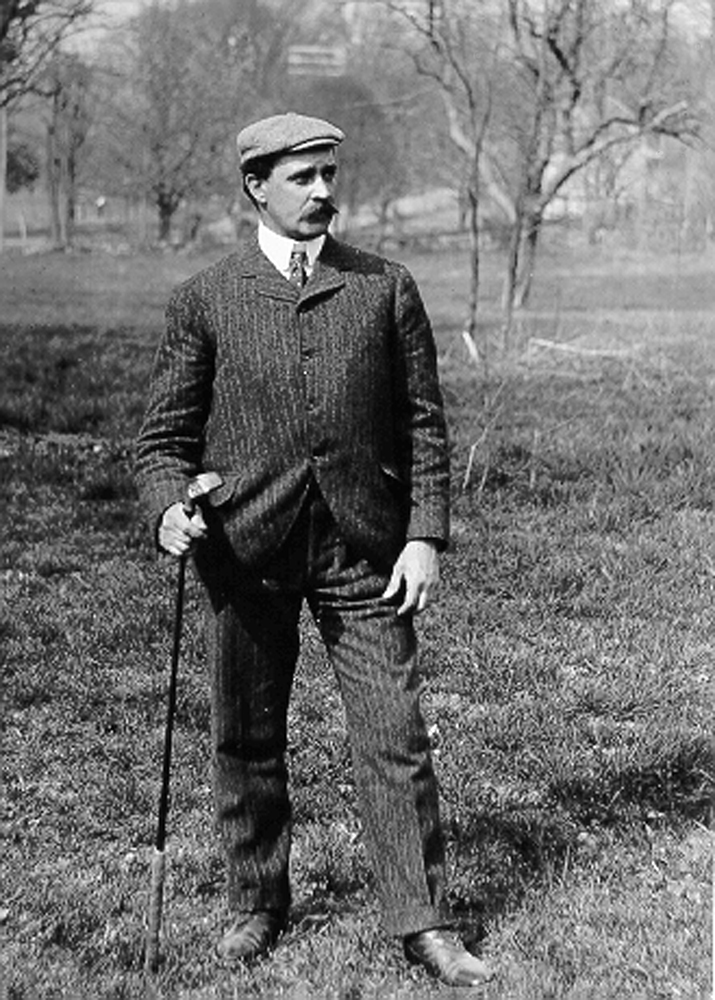 Thomas Bendelow, designer of City Park Golf Course. (The Cultural Landscape Foundation)