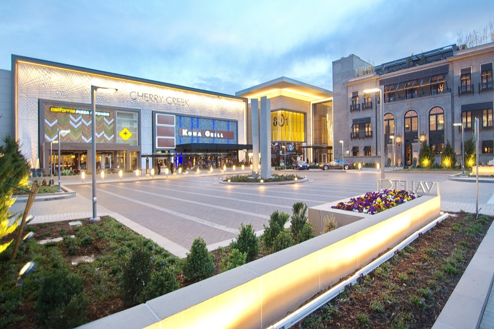 Outside view of the Cherry Creek Shopping Center (Courtesy photo)