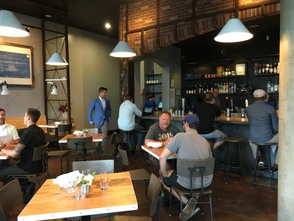 Inside Blueprint Bar, 450 E. 17th Ave.