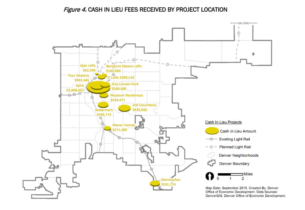 Where the fees were paid.(Denver)
