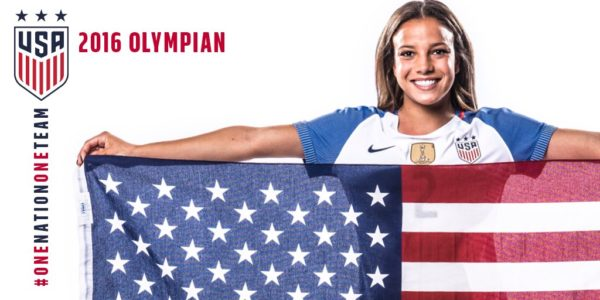 Mallory Pugh. (Courtesy Team USA)