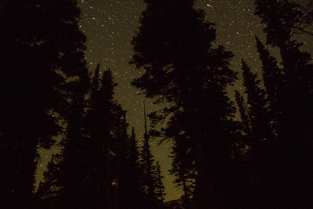 The night sky at Rocky Mountain National Park. (Kevin J. Beaty/Denverite)  rocky mountain national park; rmnp; wilderness; kevinjbeaty; denverite; colorado;