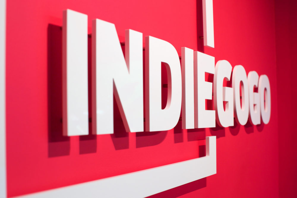 Indiegogo logo. (Sebastiaan ter Burg/Flickr)