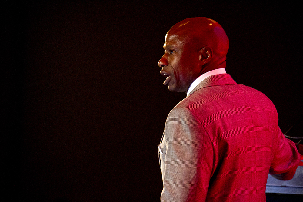 Darryl Glenn speaks at the Red State Gathering in downtown Denver. August 12, 2016. (Kevin J. Beaty/Denverite)  darryl glenn; republican; election; vote; politics; denver; colorado; kevinjbeaty; denverite;