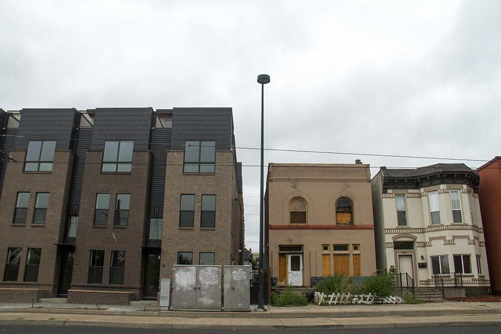 Residential property in Five Points. (Kevin J. Beaty/Denverite)  five points; residential; development; apartments; fugly; construction; kevinjbeaty; colorado; denver; denverite;