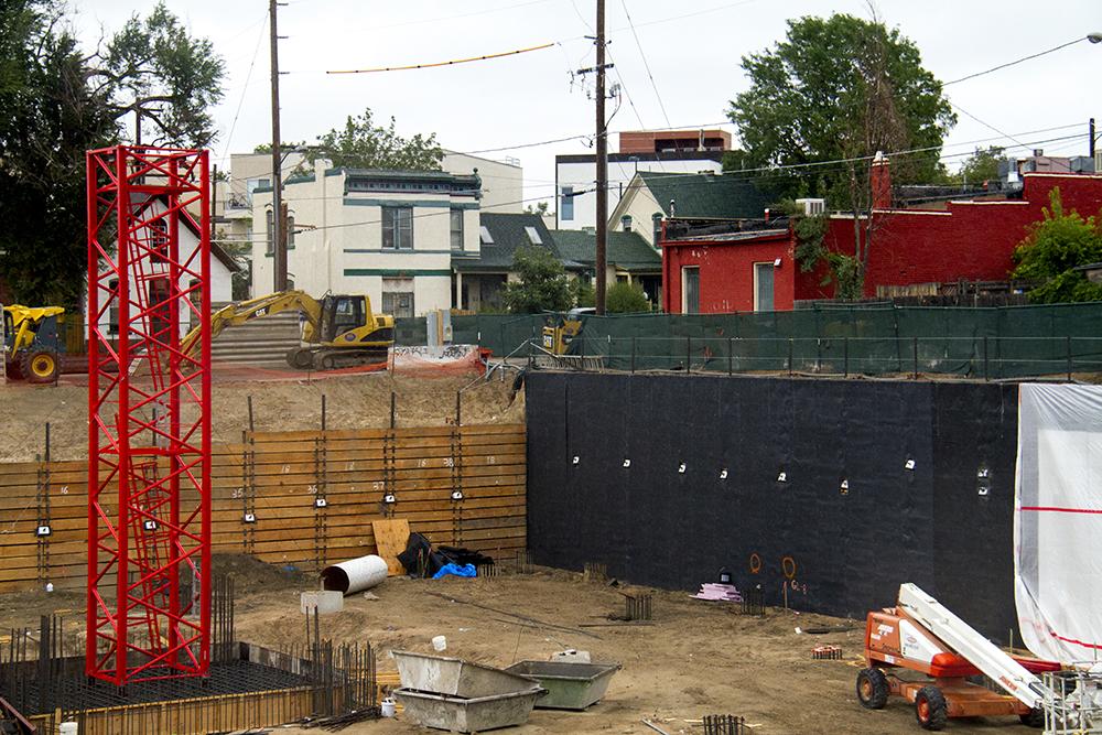 Development in Five Points. (Kevin J. Beaty/Denverite)  five points; residential; development; apartments; fugly; construction; kevinjbeaty; colorado; denver; denverite;