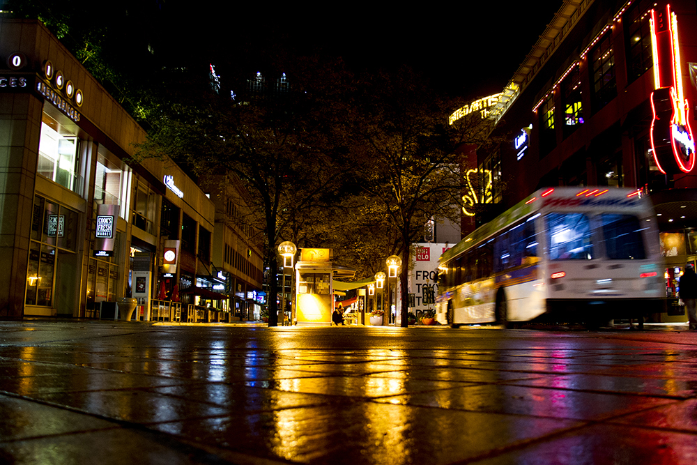 The 16th Street Mall. (Kevin J. Beaty/Denverite)
