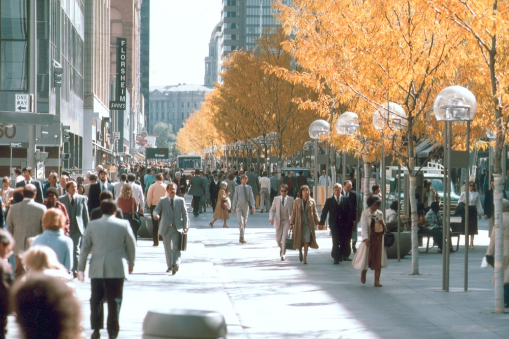 16th Street after the Mall. (Marek Zamdmer, © Pei Cobb Freed & Partners)