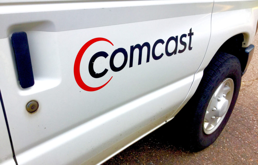 Comcast van. (Mike Mozart/Flickr)