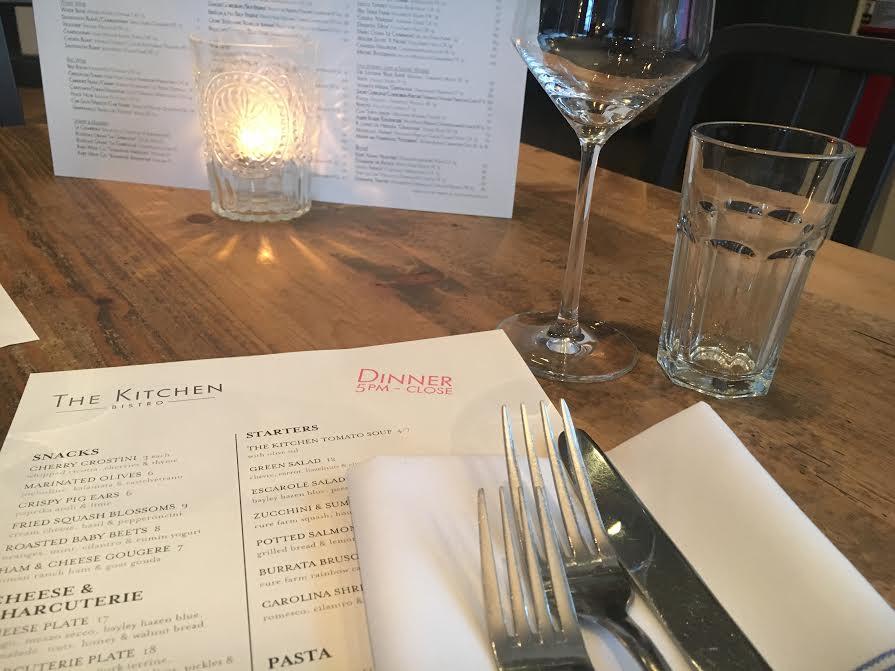 A table set at The Kitchen in downtown Denver. (Ashley Dean/Denverite)