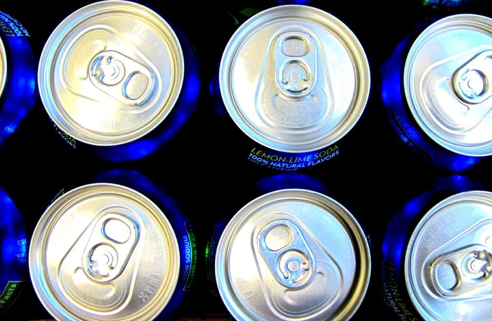 Soda cans. (frankieleon/Flickr)