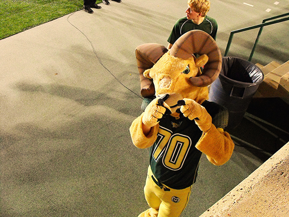Cam the Ram is probably hyped that Colorado State reportedly made the first cut in the Big 12's expansion efforts. (Eric Lumsden/Flickr)