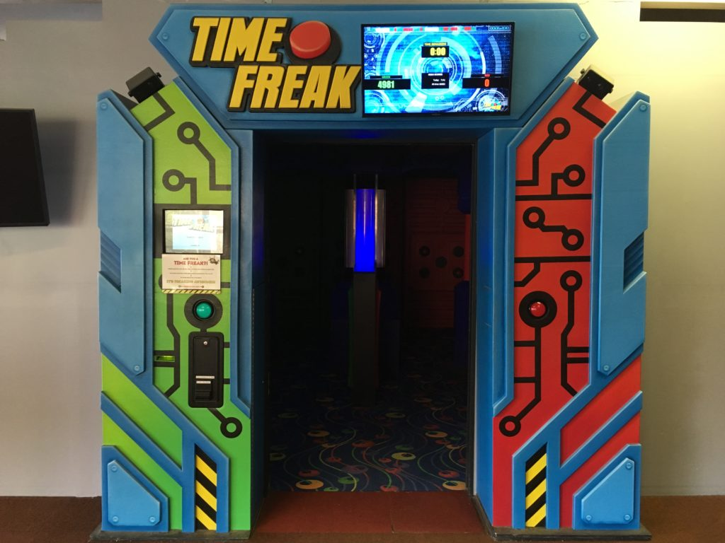 "The ""Time Freak"" game at Cave of the Winds in Manitou Springs. (Dave Burdick/Denverite)"