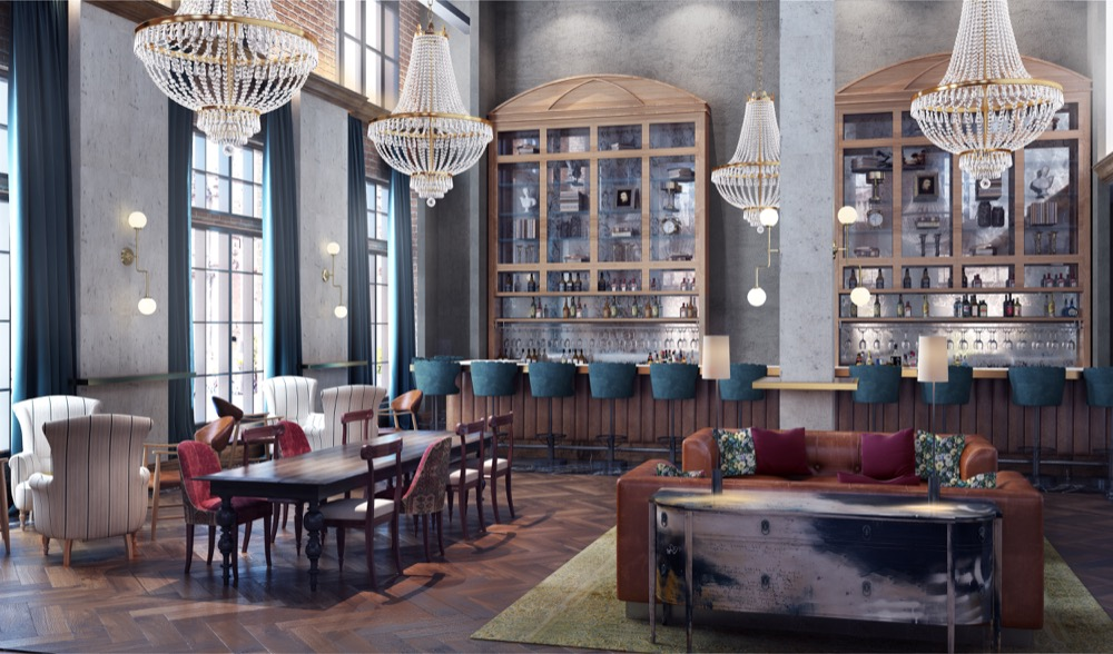 A rendering of The Ramble Hotel set to open in Denver's RiNo neighborhood. (Courtesy of Gravitas Development Group)