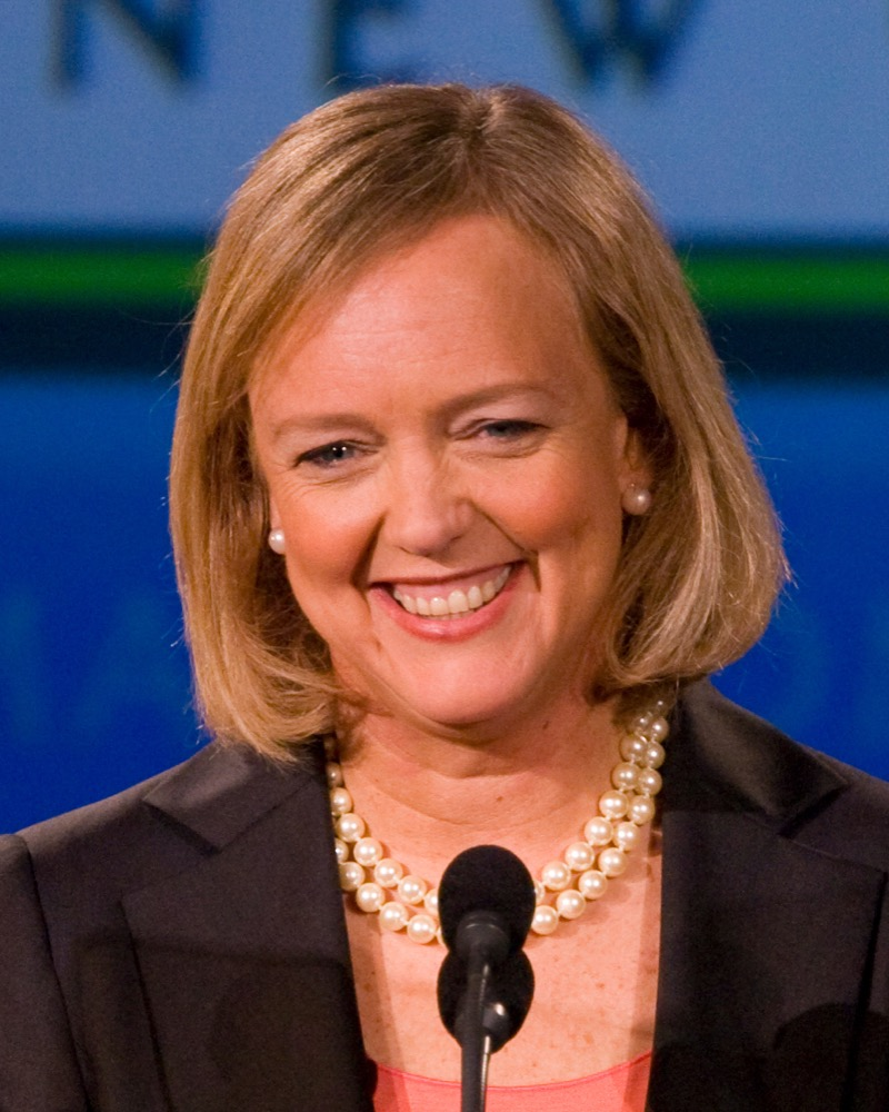 Meg Whitman in 2009. (Max Morse/Flickr)