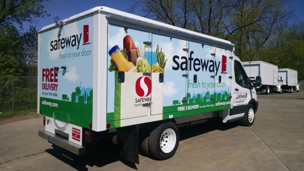 Safeway Delivery Truck