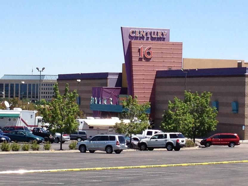 The Century 16, site of the Aurora theater shootings. (Algr/Wikimedia/CC BY-SA 3.0)