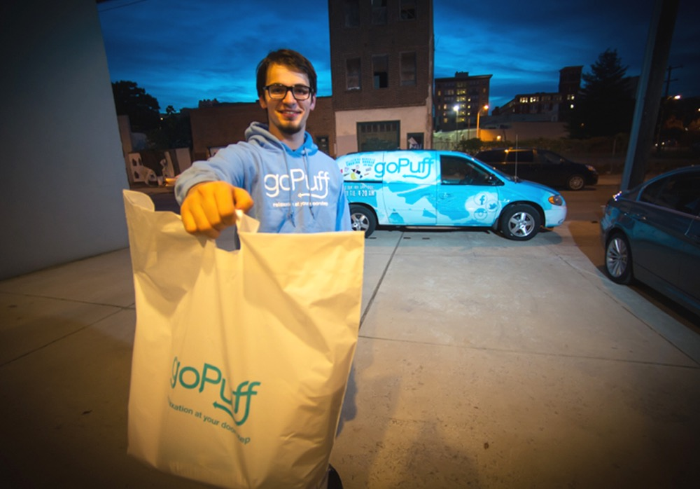goPufff is a delivery service trying to replace the convenience store. (Courtesy of goPuff).