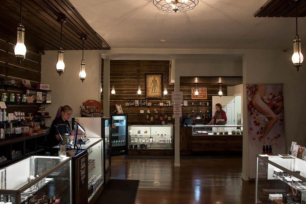 Simply Pure dispensary in Highlands. (Chloe Aiello/Denverite)