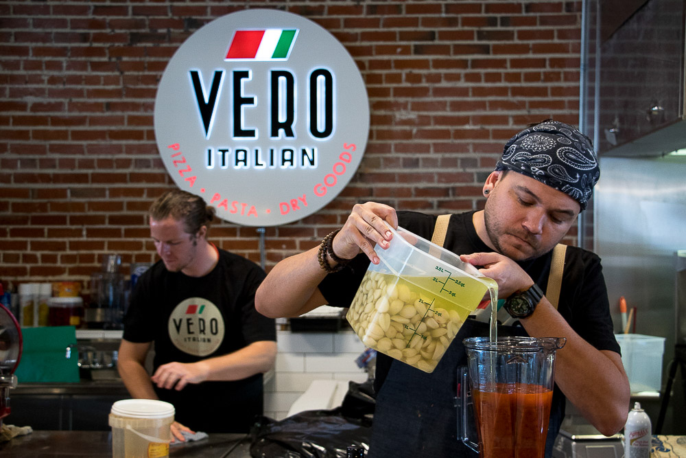 Vero Italian at Central Market. (Chloe Aiello/Denverite)