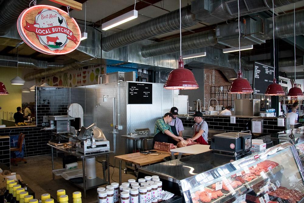 The Local Butcher at Central Market. (Chloe Aiello/Denverite)