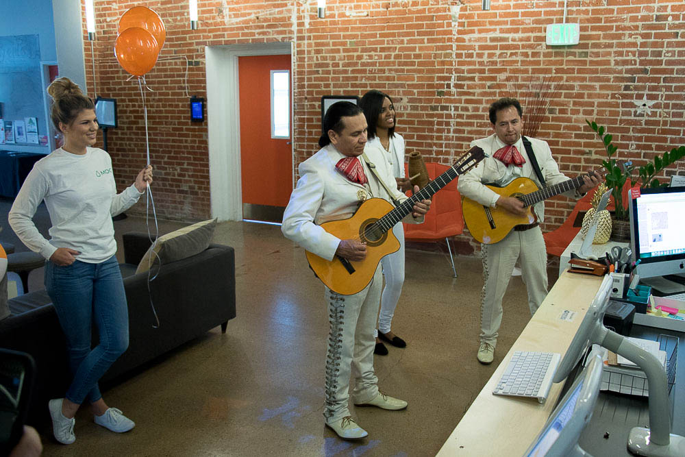 Moo's 10th anniversary Mariachi band. (Chloe Aiello/Denverite)