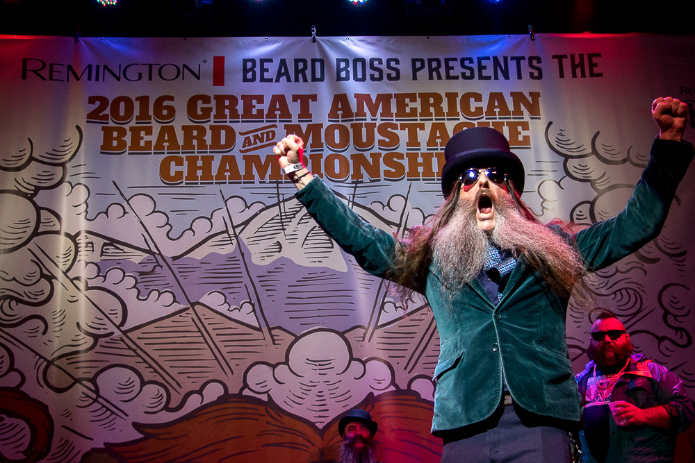 The Great American Beard and Moustache Championship. (Chloe Aiello/Denverite)