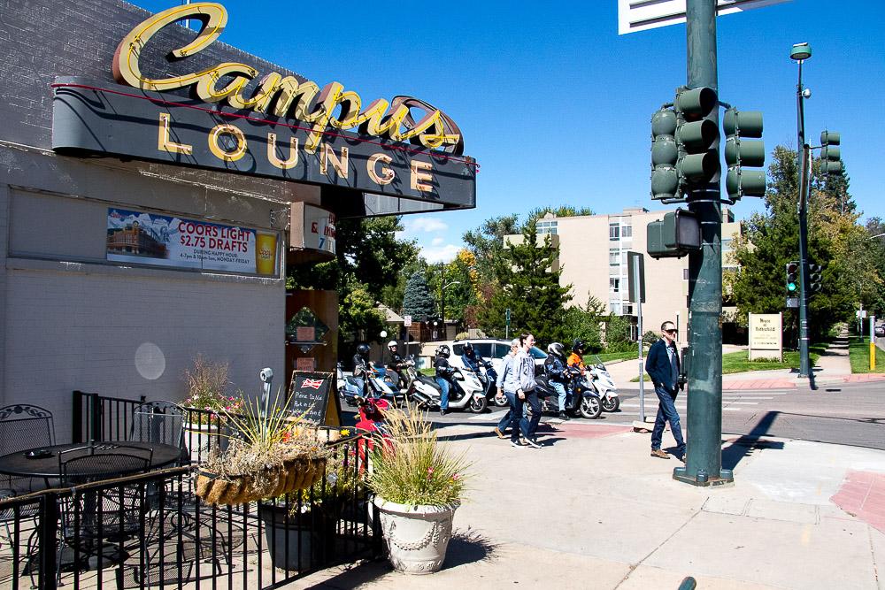 Campus Lounge on South University. (Chloe Aiello/Denverite)