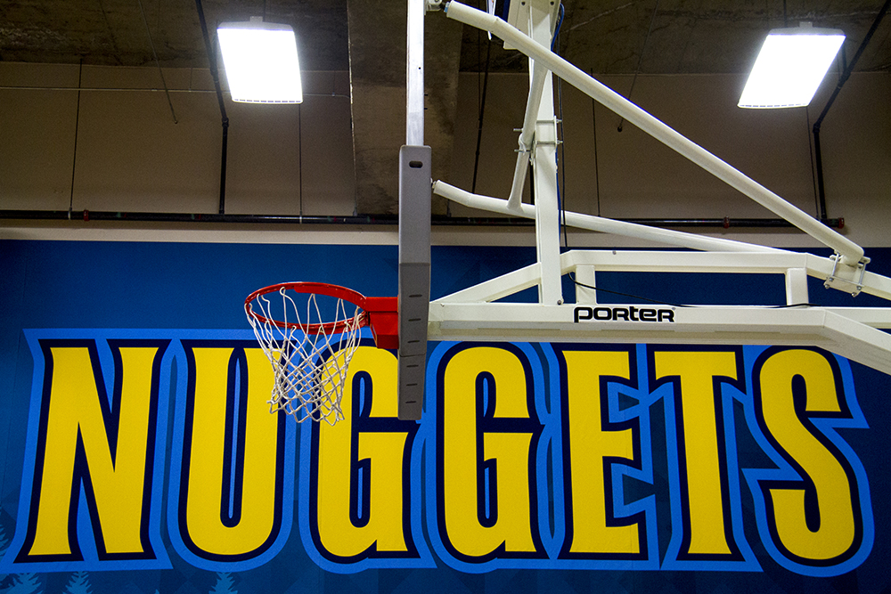 Denver Nuggets press day, Sept. 26, 2016. (Kevin J. Beaty/Denverite)  pepsi center; nuggets; basketball; sports; kevinjbeaty; denver; colorado; denverite;