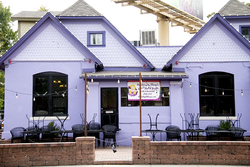 Hamburger Mary's on Humboldt and 17th. (Kevin J. Beaty/Denverite)  hamburger marys; food; restaurant; denver; colorado; kevinjbeaty; denverite