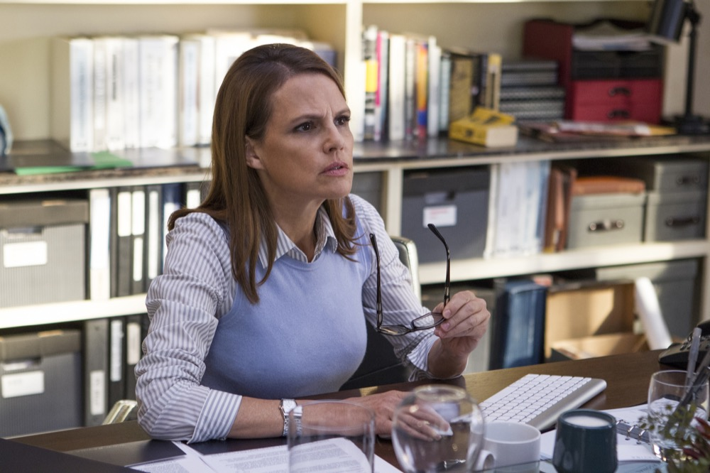 "Suzanne Cryer in HBO's ""Silicon Valley"" television series. (Courtesy of HBO)."