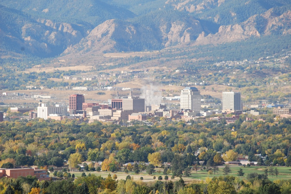 Colorado Springs. (Jasen Miller/Flickr)