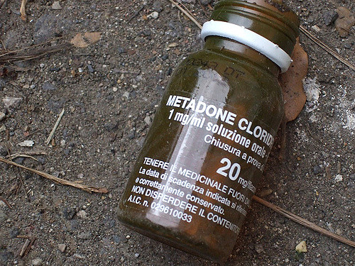 A bottle of methadone. (John Kelly/Flickr)