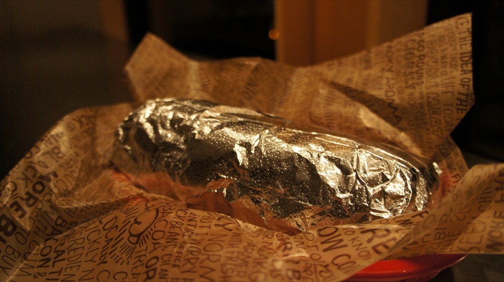 A Chipotle burrito. (Aranami/Flickr)