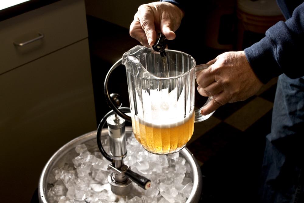A beer keg. (Jenn Durfey/Flickr)