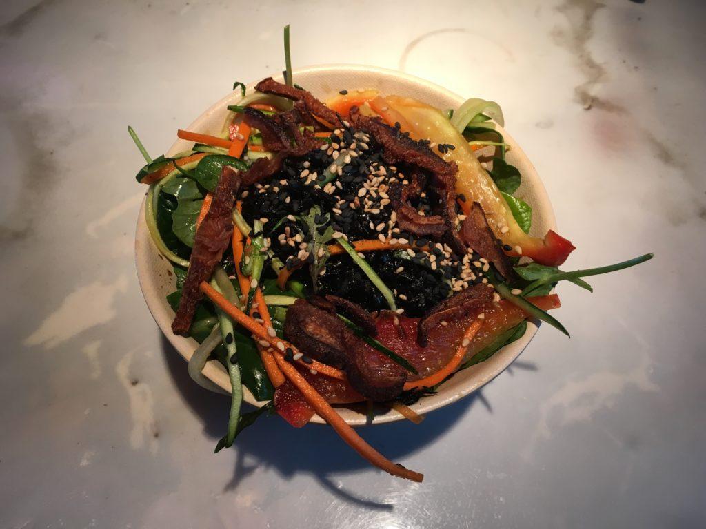 The hijiki salad at Vital Root in Denver. (Dave Burdick/Denverite)