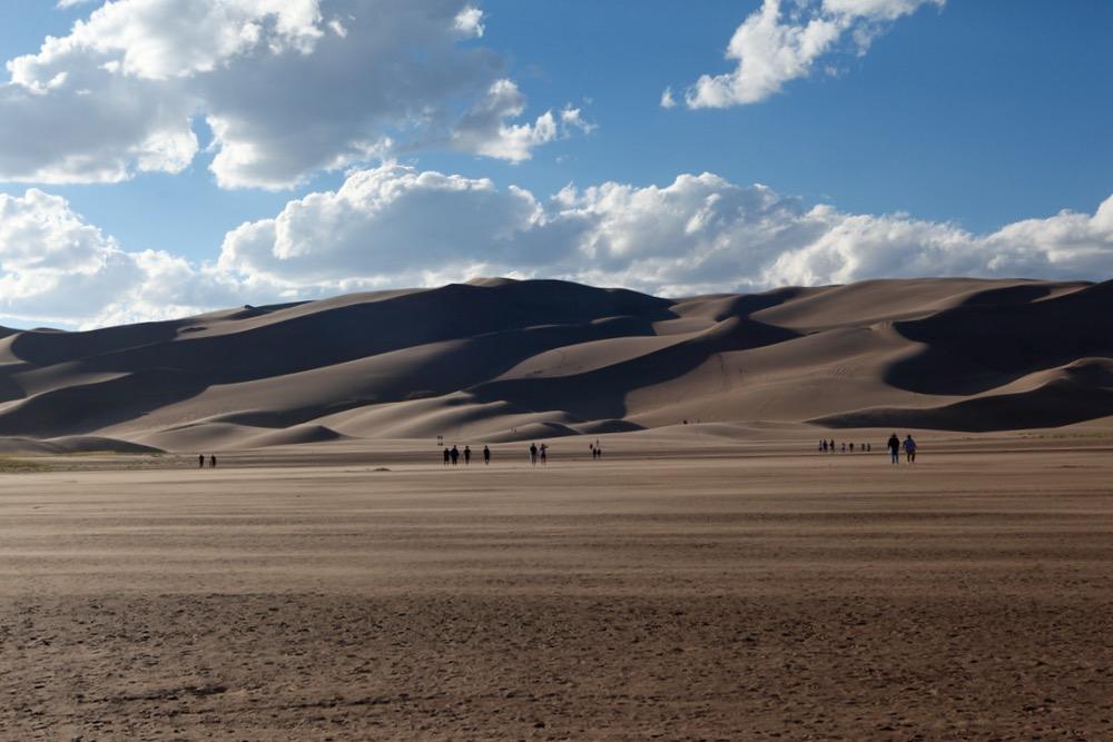 Great Sand Dunes National Park. (Andrew Kenney/Denverite)