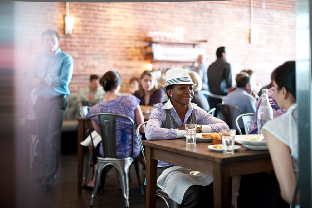 Diners at The Kitchen Denver. (Davis Tilly Photography/The Kitchen)