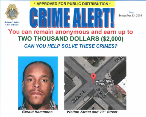 Crimestoppers screenshot Gene Hammond