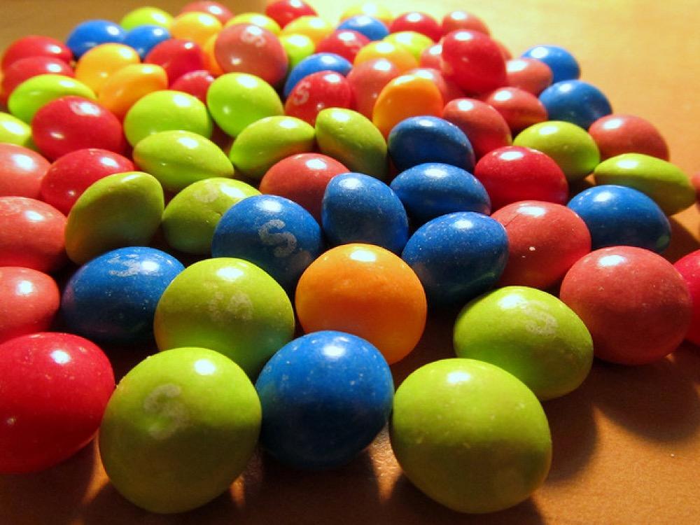Skittles (Flickr user Amy)