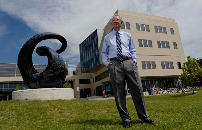 Metropolitan State University of Denver President Stephen Jordan poses for a portrait in 2015. (Photo: Denver Post file)