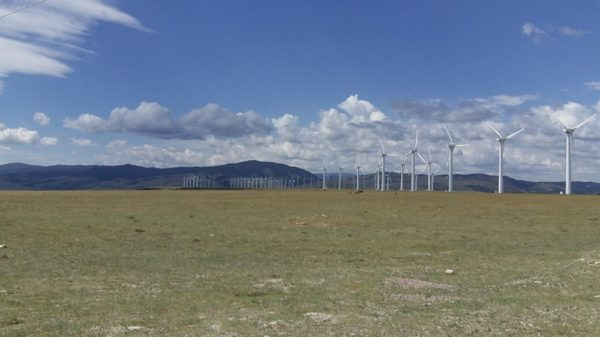 Wind turbines. (OLC Fiber/Flickr)
