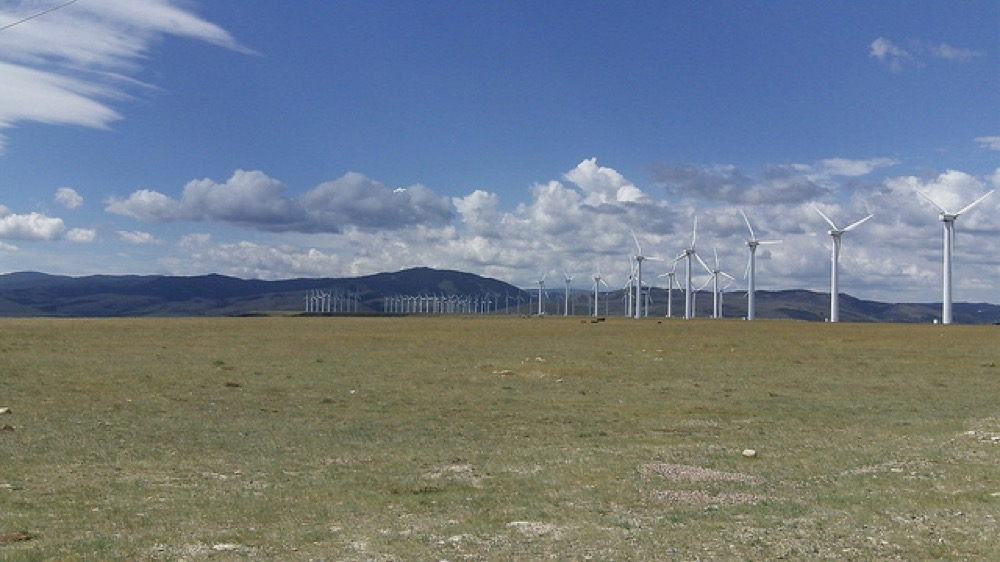 Wind turbines. (OLC Fiber/Flickr)