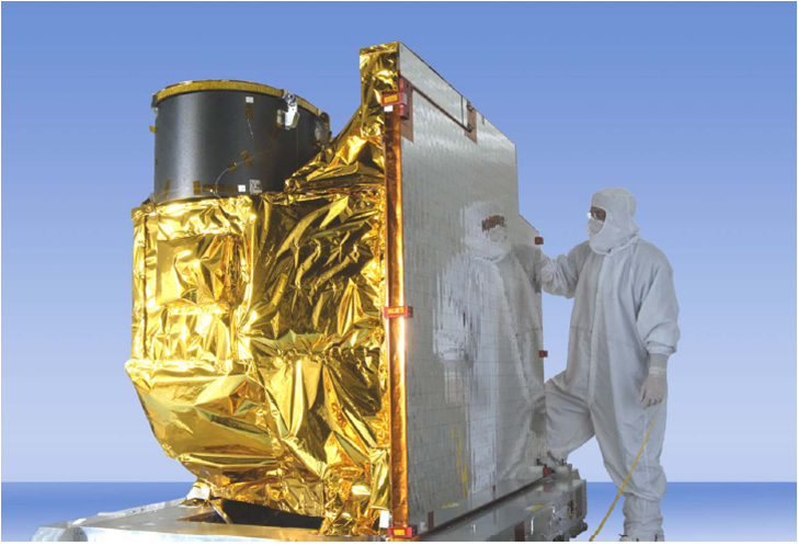 Prototype of the GOES-R Advanced Baseline Imager in 2013. (Courtesy of NASA Goddard Space Flight Center )