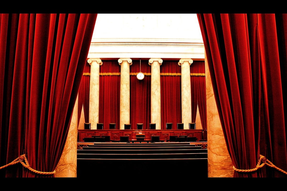Inside the U.S. Supreme Court. (Phil Roeder/Flickr)