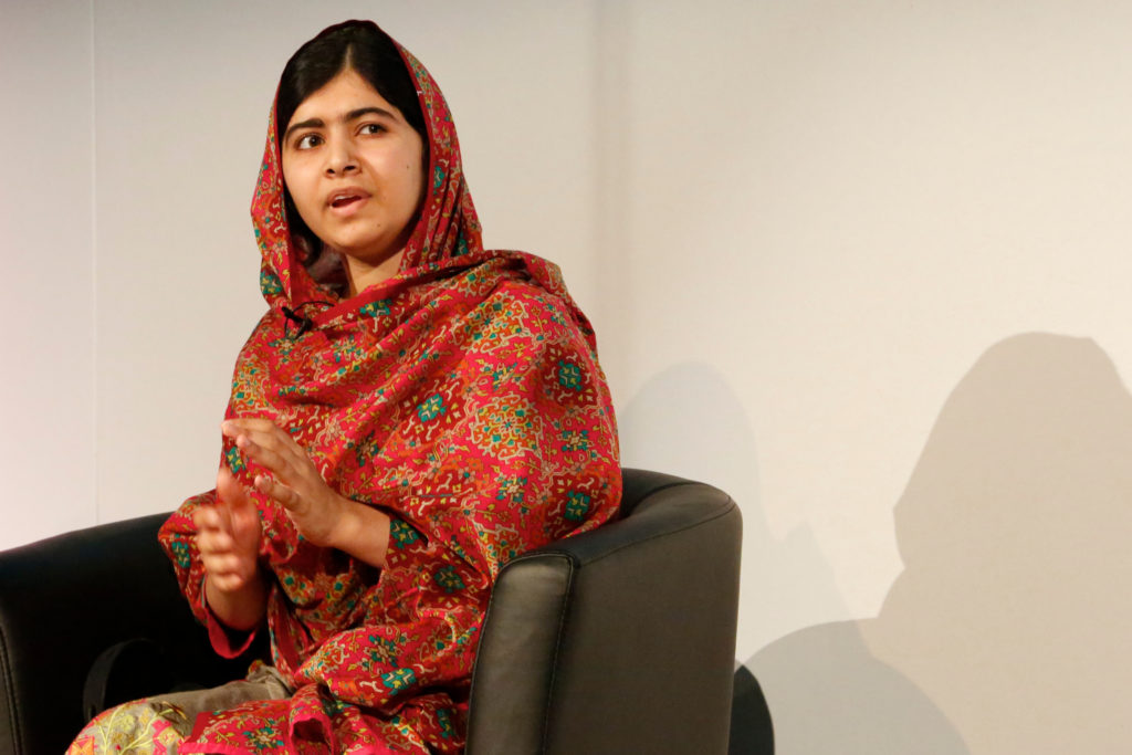 Malala Yousafzai at Girl Summit 2014. (UK Department for International Development/Flickr)
