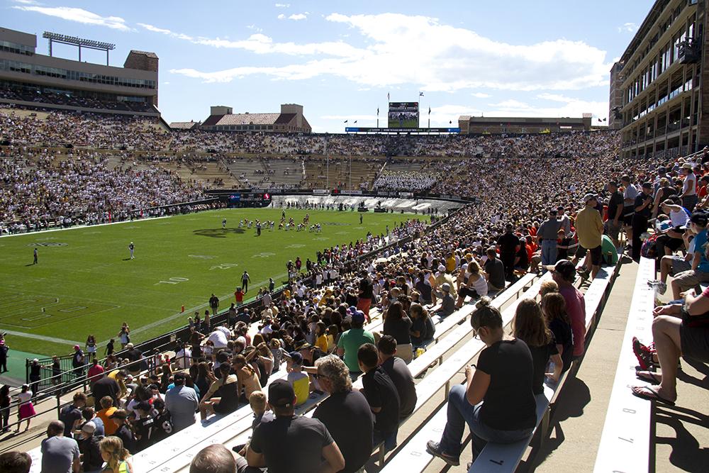 CU Buffaloes vs Oregon State Beavers. Oct 1, 2016. (Kevin J. Beaty/Denverite)  cu; university of colorado; boulder; football; sports; kevinjbeaty; denverite; colorado;