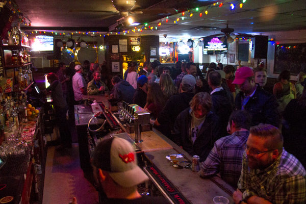 Star Bar on Larimer, which is hosting Brewers' Karaoke tonight as an unofficial side event to the Great American Beer Fest.  (Kevin J. Beaty/Denverite)  beer; nightlife; kevinjbeaty; bars; denverite; denver; colorado;