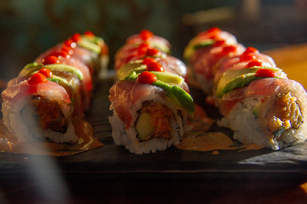 Sushi, served at Zengo's grand re-opening, Oct. 5, 2016. (Kevin J. Beaty/Denverite)