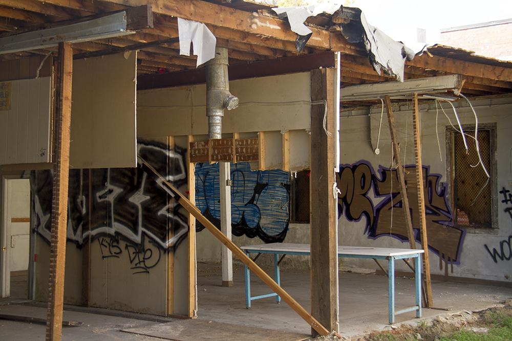 The derelict First Avenue Grocery in Baker. (Kevin J. Beaty/Denverite)baker; commercial real estate; denver; colorado; denverite; kevinjbeaty;